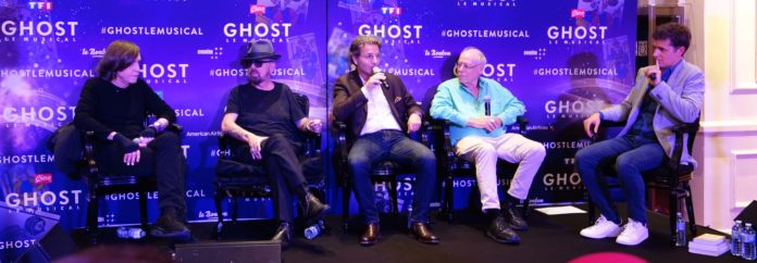 Dave Steward, Glenn Ballard, Bruce Joel Rubin et Arnaud Cazet ©DR