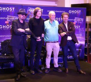 Dave Steward, Glenn Ballard, Bruce Joel Rubin et Laurent Bentata ©DR