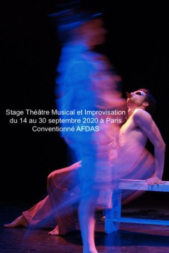 Stage AFDAS Théâtre Musical et Improvisation